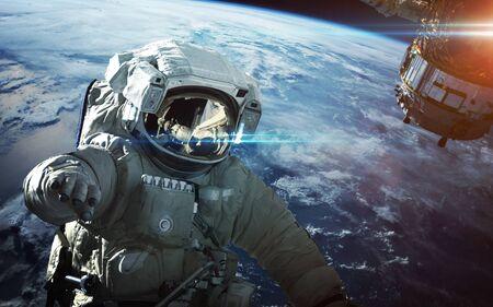 Foto de Astronaut in outer space - Imagen libre de derechos