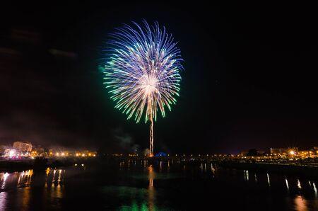San Juan Fireworks at Badajoz, Extremadura, Spain