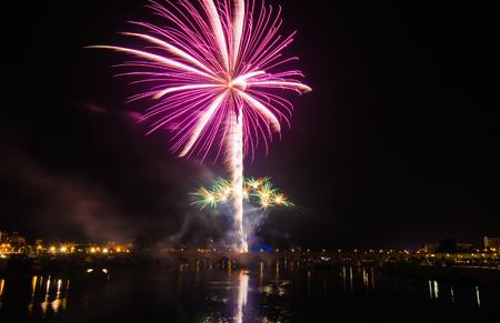 Fuegos artificiales de la noche de San Juan 2016, Badajoz