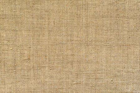 Photo pour Brown, fabric background from old burlap, horizontal - image libre de droit