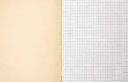 blank writing book sheets background