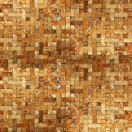 frame mosaic tile grunge background