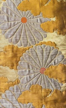 Japan pattern on decorative kimono floral Japanese style