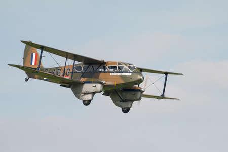 De Havilland Dragon rapide 1930 airplane