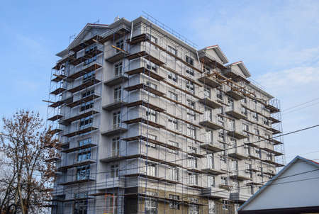 Construction of a multi-storey residential building. Share construction of residential real estate.