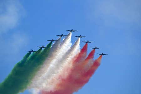 aerobatic team - tricolor arrows italy