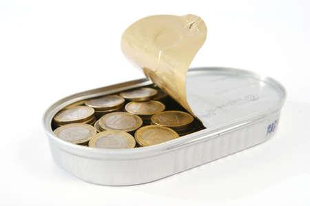 coins in a box