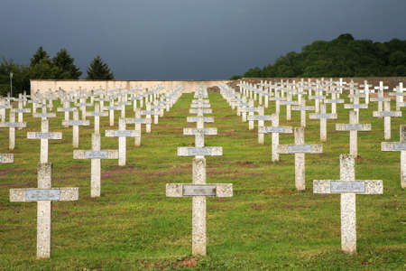 Military graveyard of heroes of the First World War - France, Alsace, Vosges