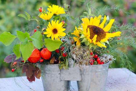 Autumn arrangement , Duo in Autumn