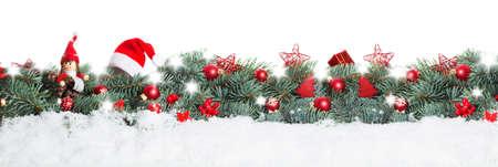 Photo pour Christmas background, banner - image libre de droit