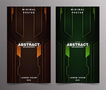 Illustration pour Abstract technology includes minimal luxury design - image libre de droit
