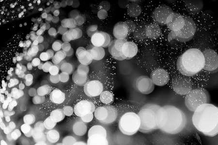 Photo pour Christmas bokeh lights refocused blurred background, Abstract texture. - image libre de droit