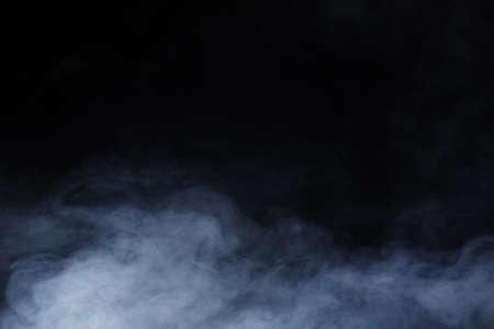 Foto de Abstract Smoke on black Background - Imagen libre de derechos