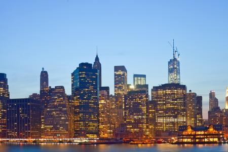 New York City, USA colorful