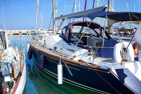 Boats in safe harbo r. Latc