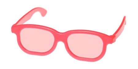 Through rose-colored glasses the world looks much more optimistic