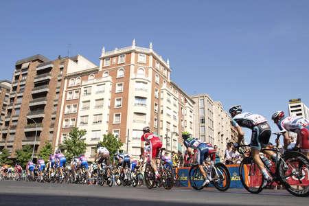 la vuelta a españa in Logroño