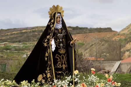 holy easter procession in Logroño