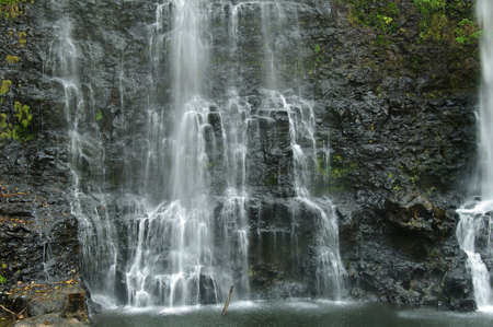 Waterfall on the Bolaven Plateau in Lao.