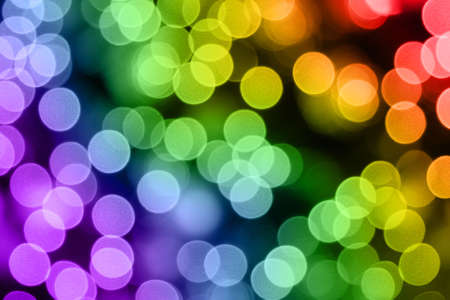 christmas lights. Multicolored blurred light