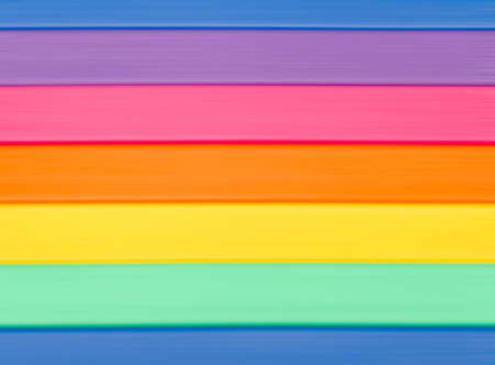Horizontal lines of color of a rainbow background