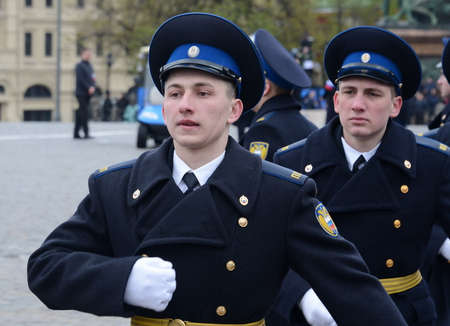 Presidential regiment.