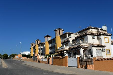 Photo pour Residential residences on the Costa Blanca in Orihuela. Spain - image libre de droit