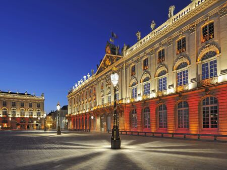 Place Stanislas, Nancy, France at dawn