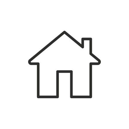Illustration pour House icon. Vector illustration - image libre de droit