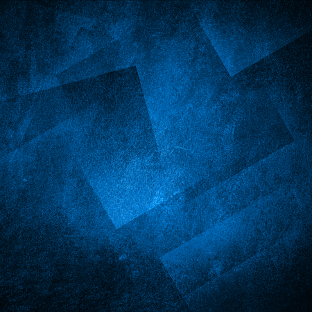 Photo pour Grunge blue wall background or texture - image libre de droit