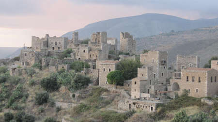Vathia, the old castle village in Mani, Greece