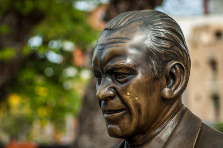 statue of President Gerald R. Ford