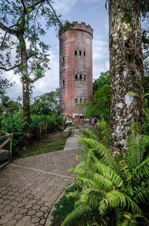Yokahu observatiry tower puerto rico