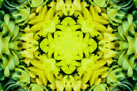 Kaleidoscope of color with beautiful ornamental - Thorough background summary - seamless