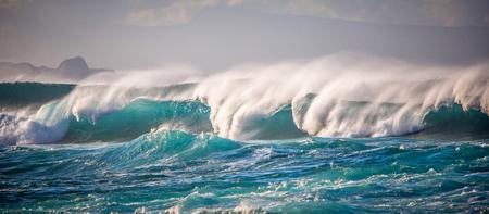 Shorebreak on Maui Hawaii