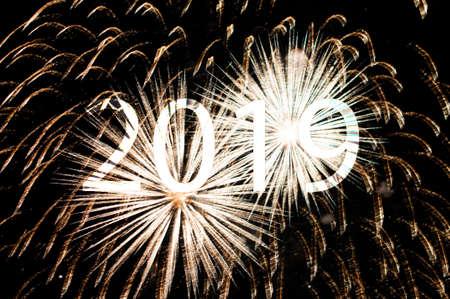 Photo pour Happy New Year 2019 - image libre de droit