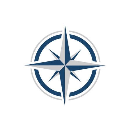 Illustration pour stylish Creative Compass Logo design Concept Design vector Icon Template - image libre de droit