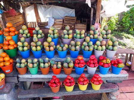 Roadside Markets in Mexico
