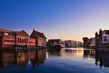 Photo for Architecture of old town in Gdansk, Poland - Royalty Free Image