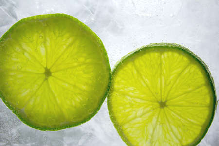 Lime on Ice - Iced Lime