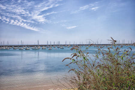port of the town of Jard-sur-mer in Vendée