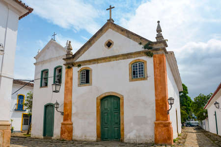 Ancient Church of Our Lady of the Rosary and Saint Benedict built in colonial style and was begun in the year 1725