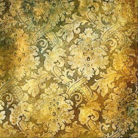 vintage golden wallpaper