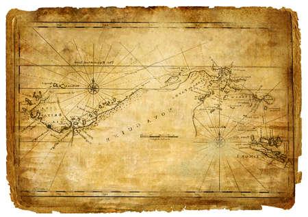 ancient map - vintage background