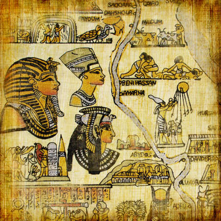 old egyptian background