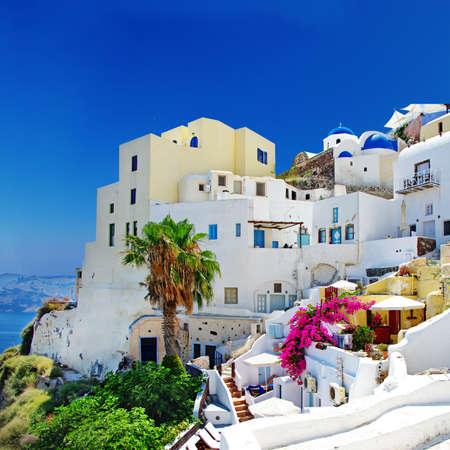 traditionak cycladic architecture - Santorini