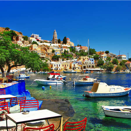 pictorial peaceful Greek islands - Symi