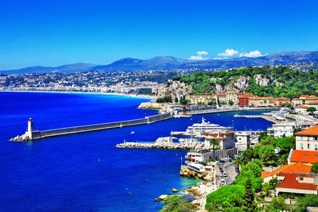 sunny Nice, south of France