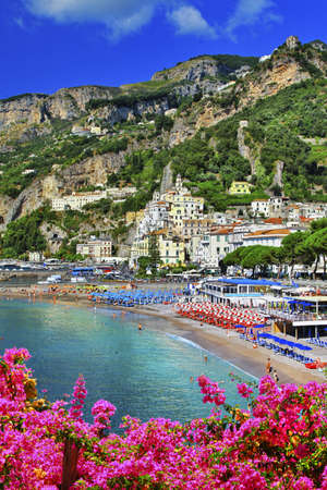 beautiful Amalfi. italy