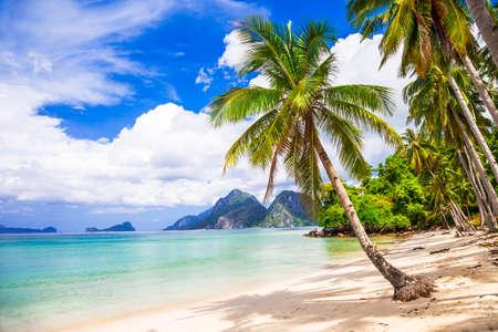 beautiful tropical beach, El Nido Palawan